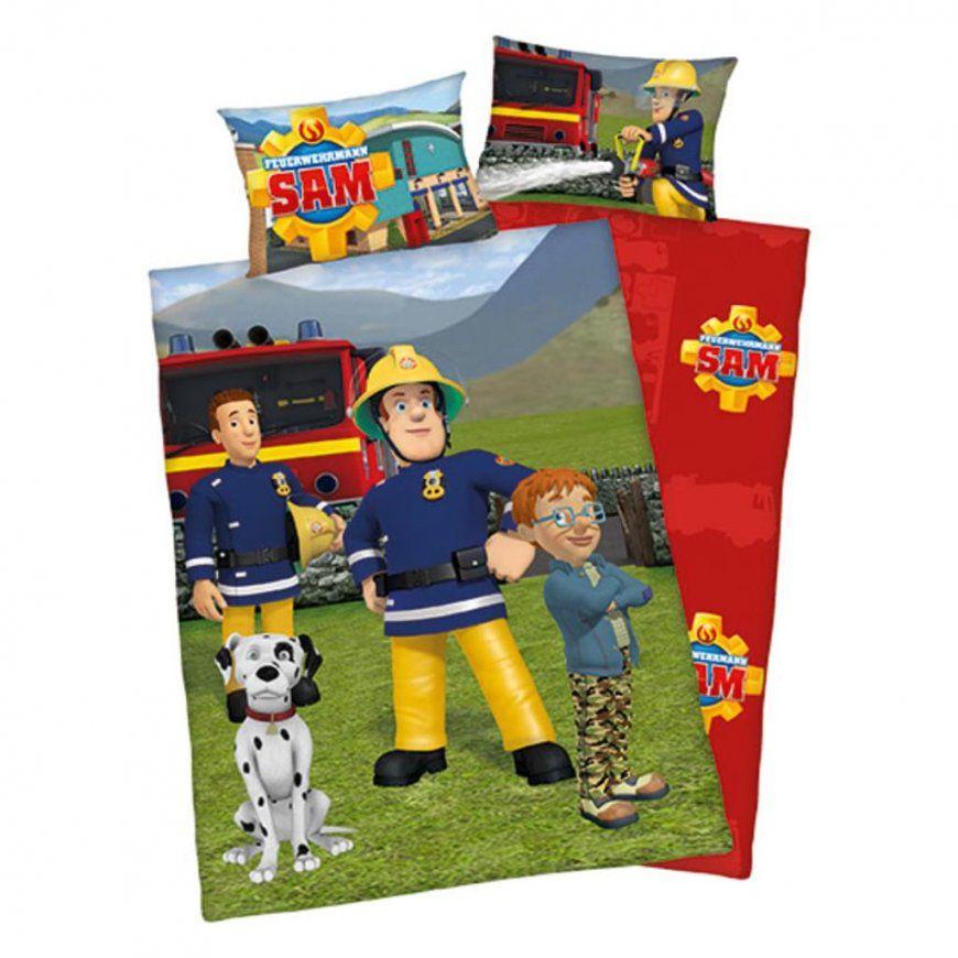 Feuerwehrmann Sam Flanellbettwäsche 100 X 13540 X  Real von Feuerwehrmann Sam Bettwäsche Real Photo