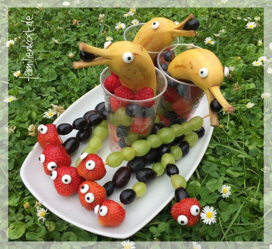 Fingerfoodideen Für Kinder Von Obst Deko Für
