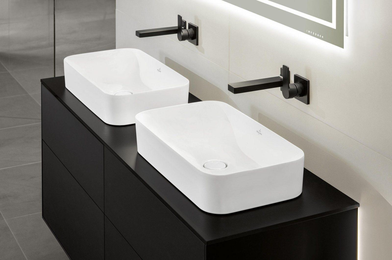 Finion 4139D2 Doppelwaschtisch  Waschtische Von Villeroy & Boch von Doppelwaschtisch Villeroy Und Boch Photo