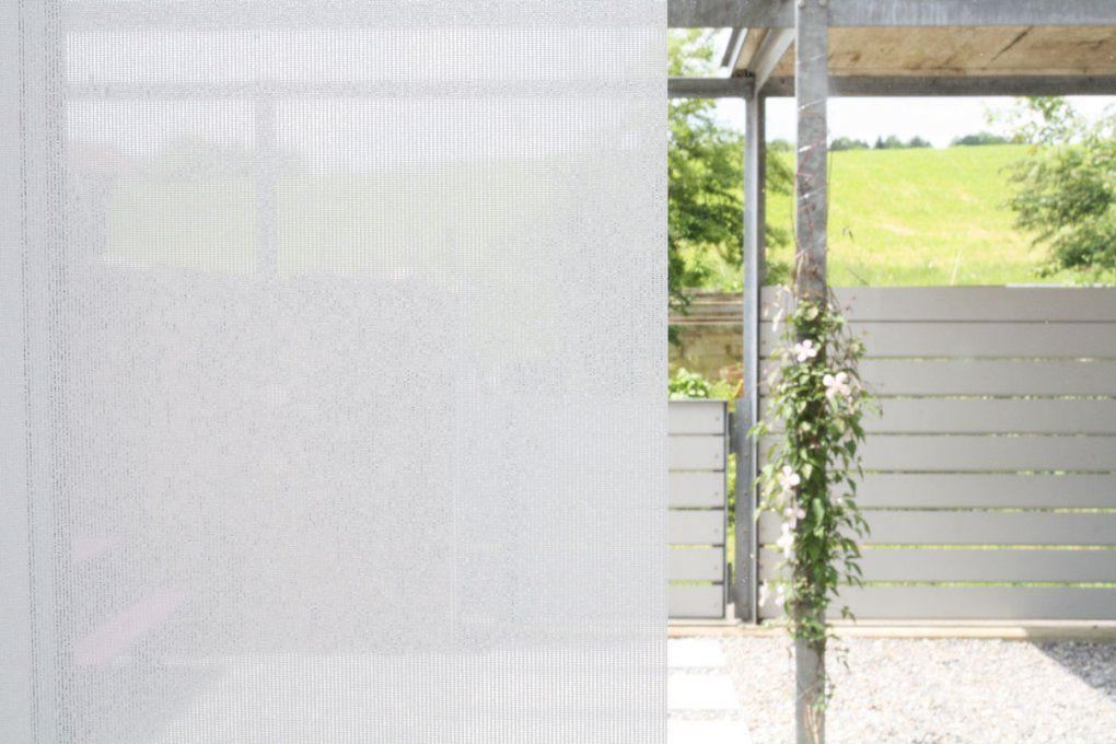 Flächenvorhang Halbtransparent [Weiss 60Cm80Cm120Cm Breit von Flächenvorhang 30 Cm Breit Photo
