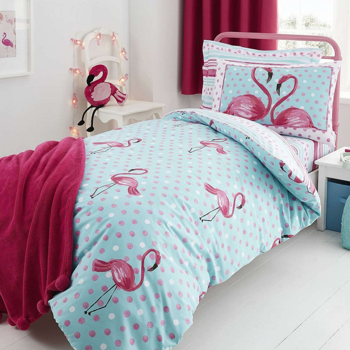 Flamingo Bed Linen Collection  Dunelm  Bed Linen Beautiful  Pinterest von Bettwäsche Shabby Chic Bild