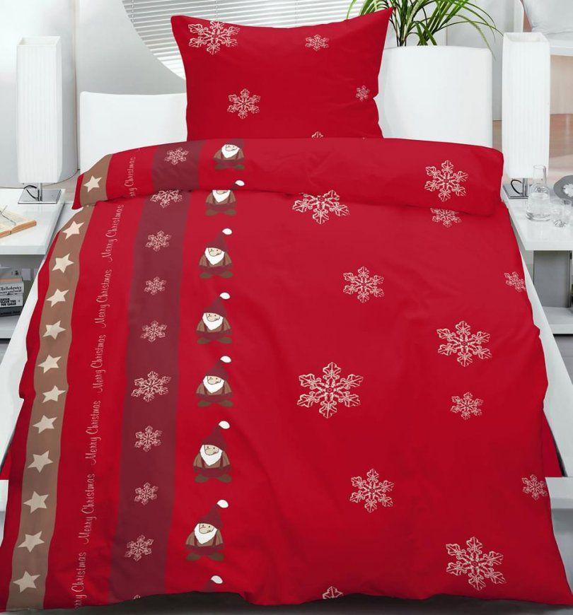 Flanell Motiv Winter Bettwäsche 135X200 + 80X80Cm  Real von Bettwäsche Flanell Fleece Bild