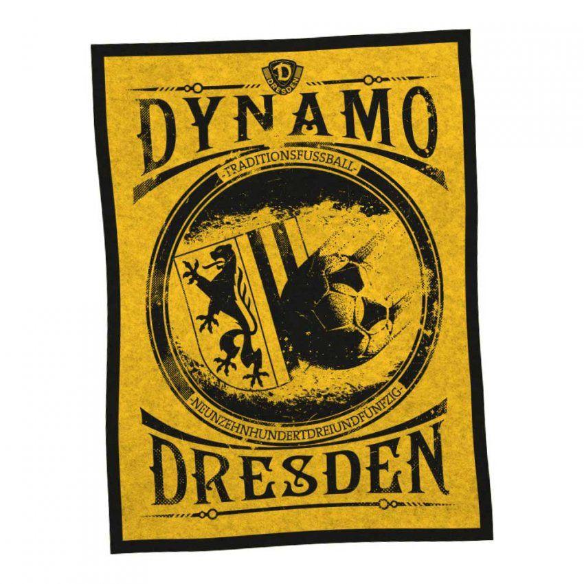 Fleecedecke Traditionsfussball 150 X 200  Schlafzimmer  Haushalt von Dynamo Dresden Bettwäsche Photo