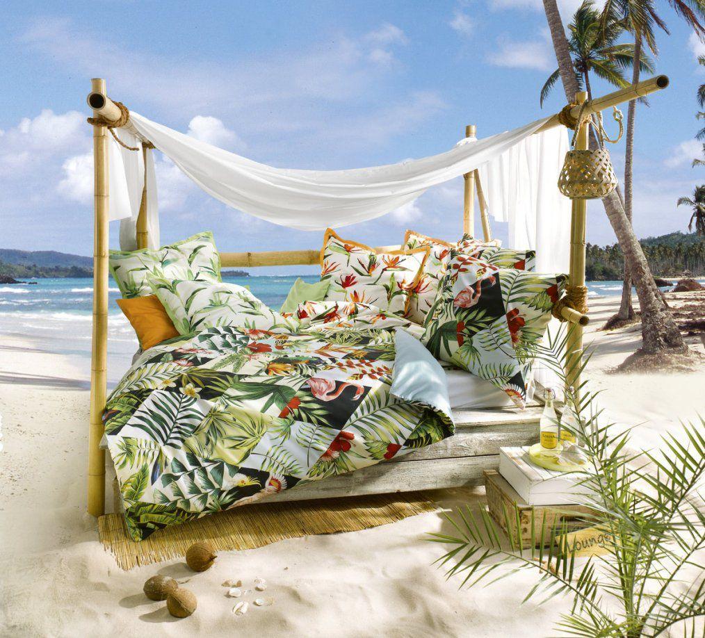 Fleuresse Bed Art S Mako Satin Bettwäsche Dschungel  Boudoir von Fleuresse Bettwäsche 155X220 Bild