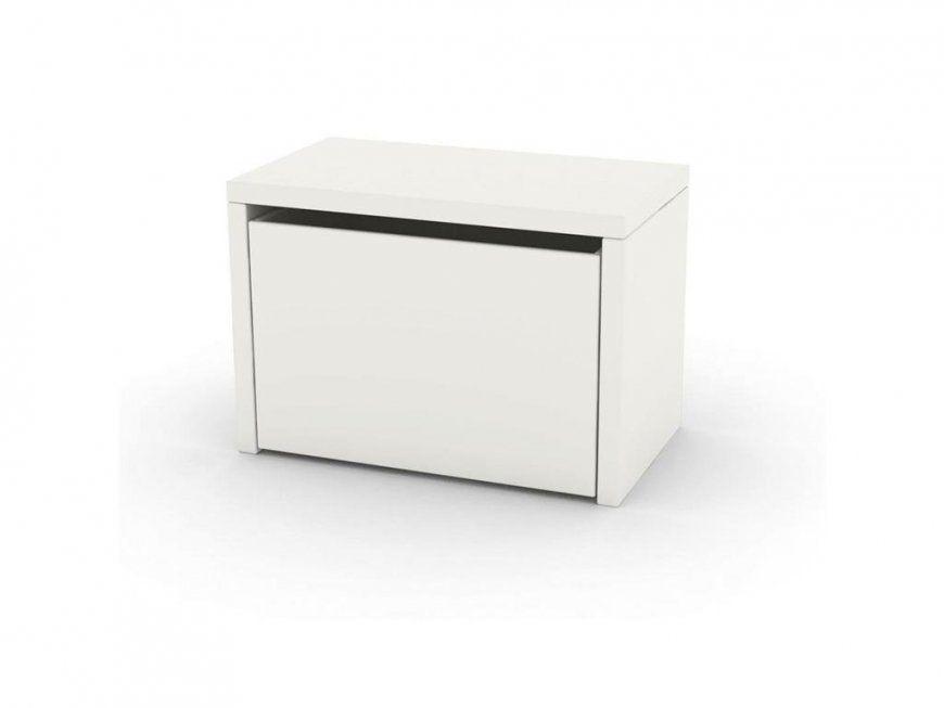 Flexa Play Aufbewahrungskiste 3 In 1 Bank Mit Stauraum Weiß von Sitzbank Weiß Mit Stauraum Bild