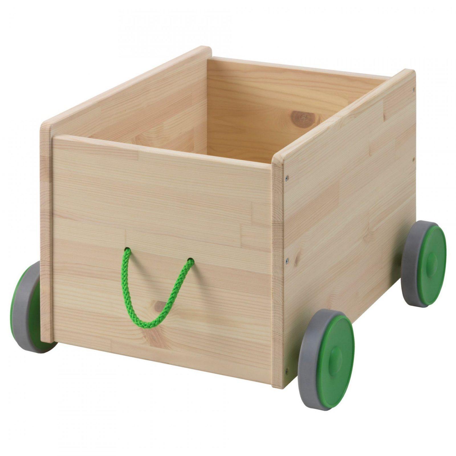 Flisat Spielzeugwagen  Ikea von Ikea Holzkiste Mit Deckel Bild