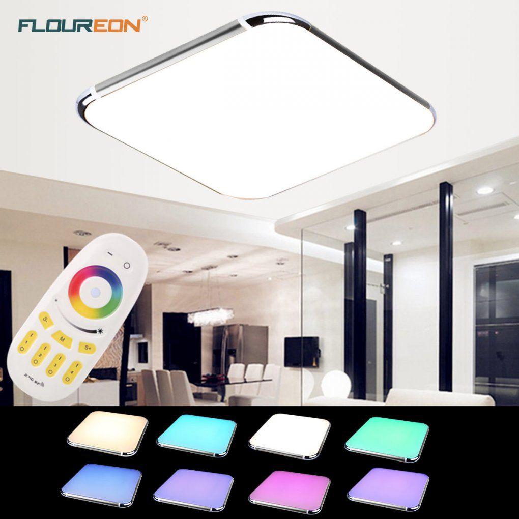 Floureon Led Rgb Farbwechsel Deckenleuchte Deckenlampe Dimmbar 30W von Led Deckenleuchte Dimmbar Farbwechsel Bild