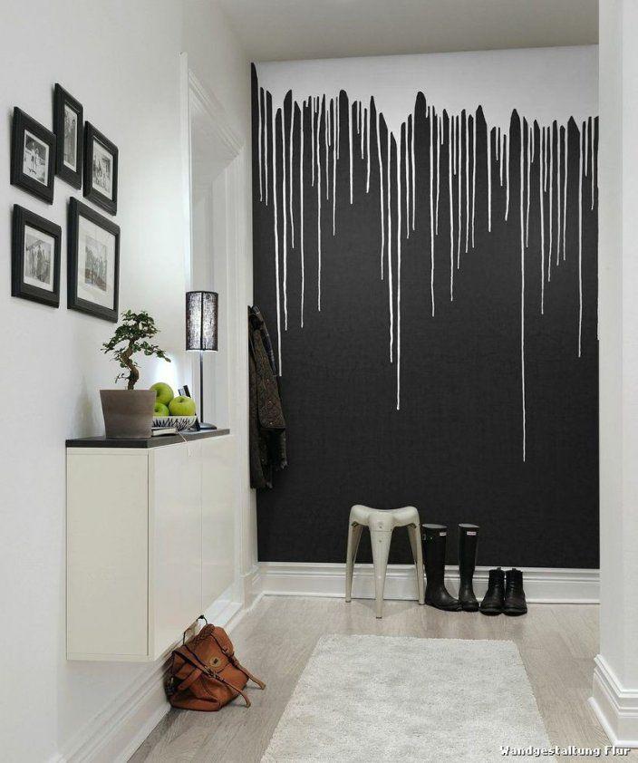 Flur Ideen Farbe Home Glamourös Flur Wand Gestalten Wohndesign Avec von Wand Mit Farbe Gestalten Photo
