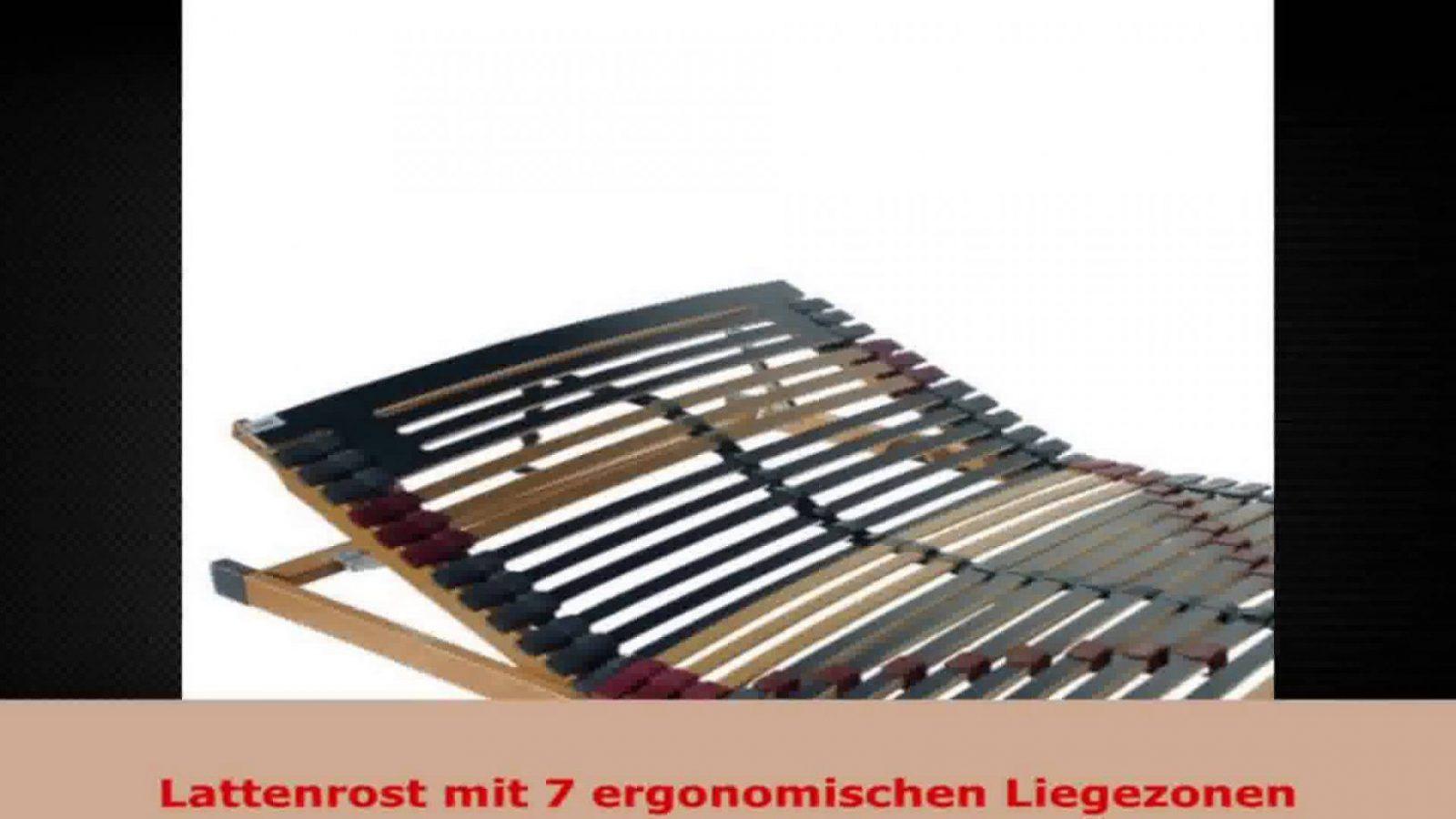 Fmp Matratzenmanufaktur 220002 7 Zonen Lattenrost Rhodos Kf Kopf Und von Lattenrost Richtig Einstellen Anleitung Photo