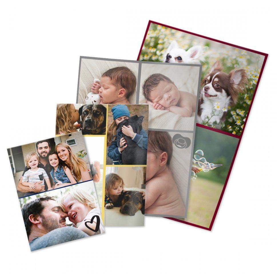 Fotocollage Abzüge 13X18 Cm (Hochglanz)  Fotocollage Abzüge von Fotoleinwand Collage Selbst Gestalten Photo