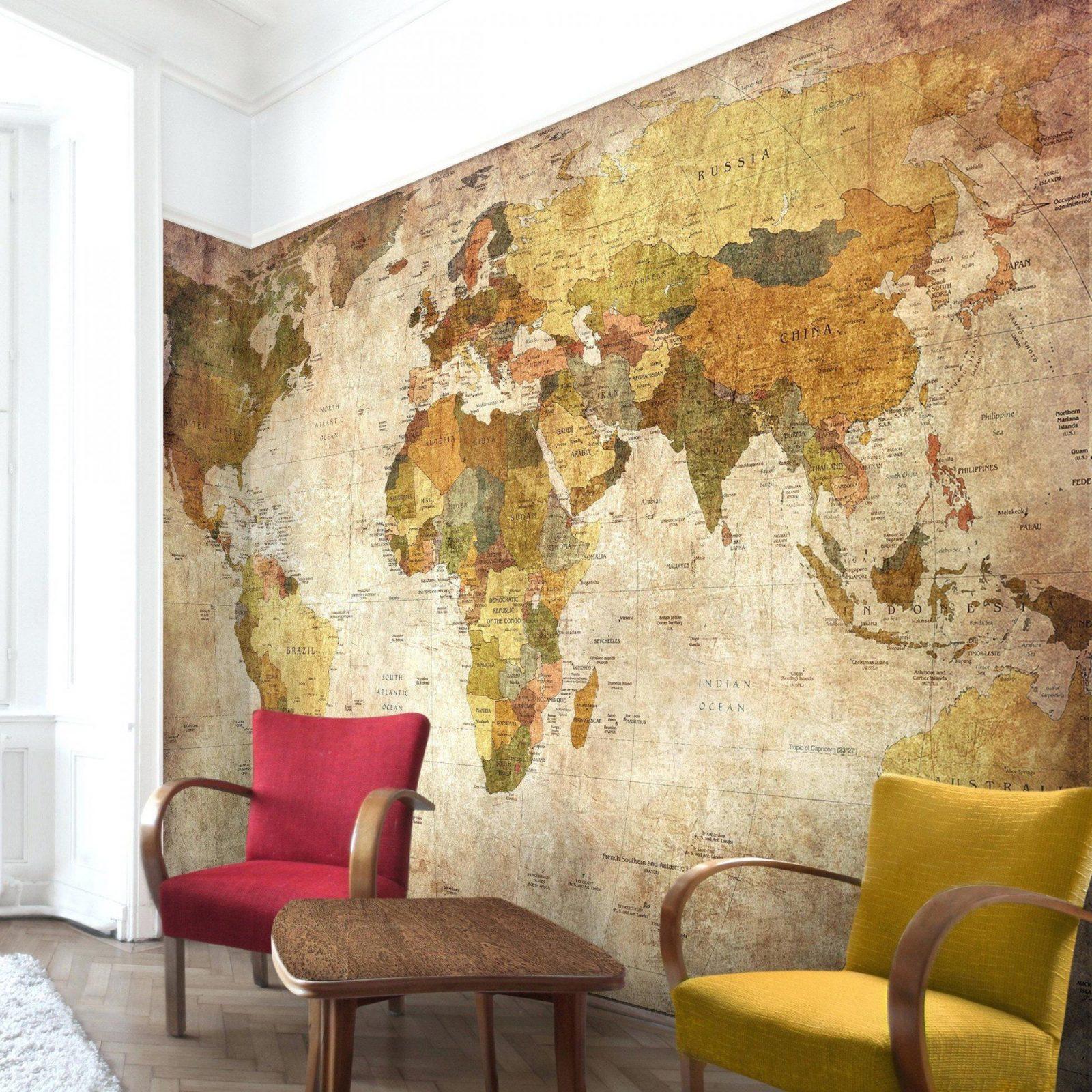 Fototapete Selber Gestalten Unglaubliche Inspiration Weltkarte von Fototapete Collage Selbst Gestalten Bild