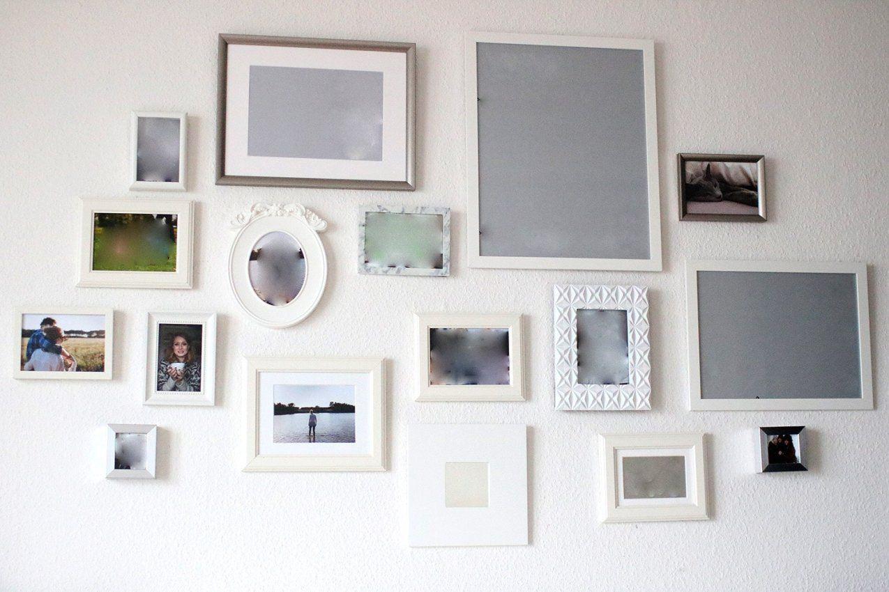 fotowand gestalten ohne bilderrahmen haus design ideen. Black Bedroom Furniture Sets. Home Design Ideas