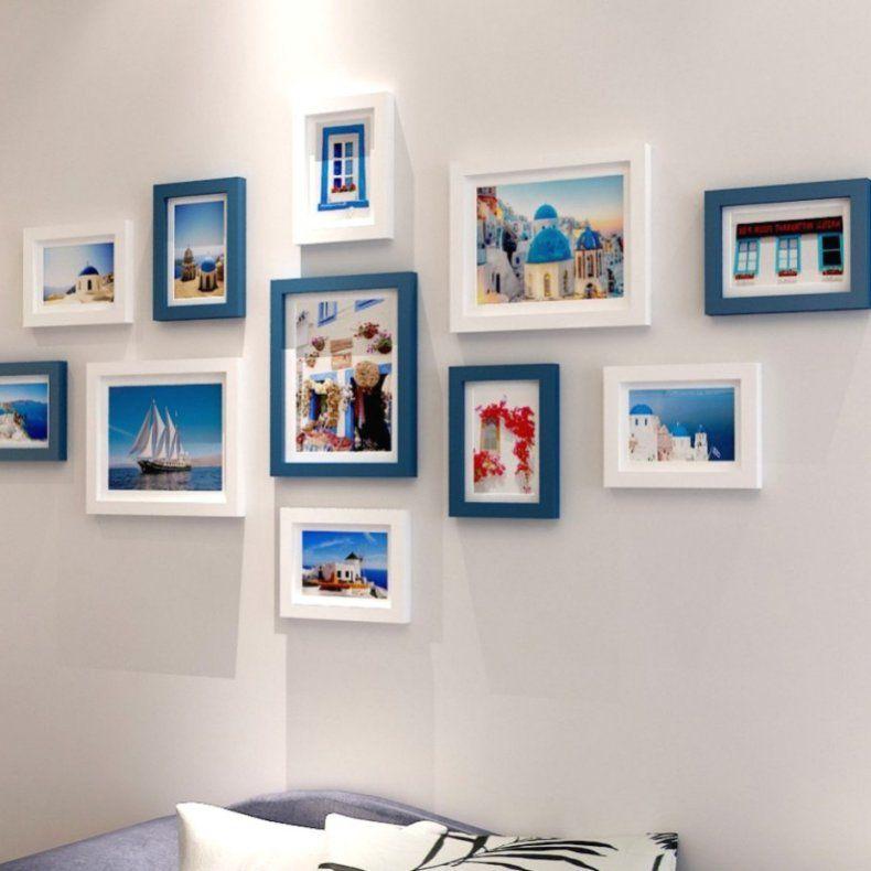 Fotowand Gestalten Rahmen Rahmen Anordnen Mit Linie Ideen Tolles von Bilderwand Gestalten Ohne Rahmen Photo