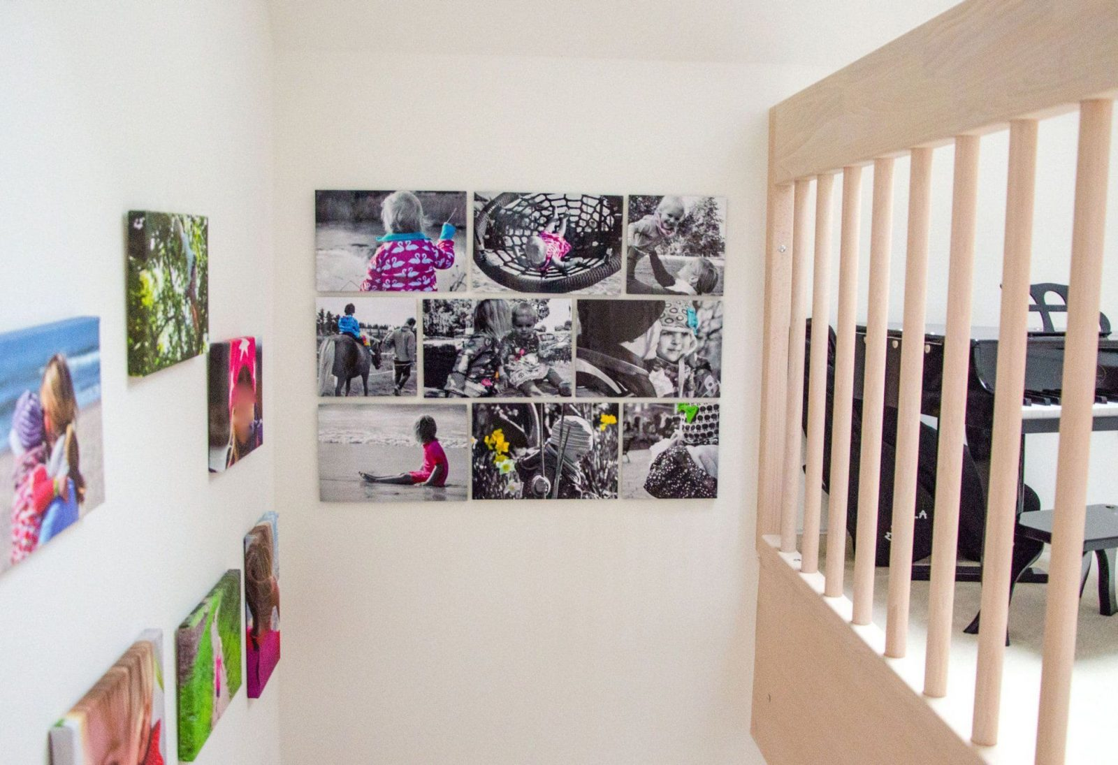 Fotowand Gestalten Ohne Bilderrahmen | Haus Design Ideen