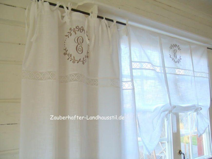 Französische Gardinen Landhaus  Home Service von Französischer Landhausstil Gardinen Bild