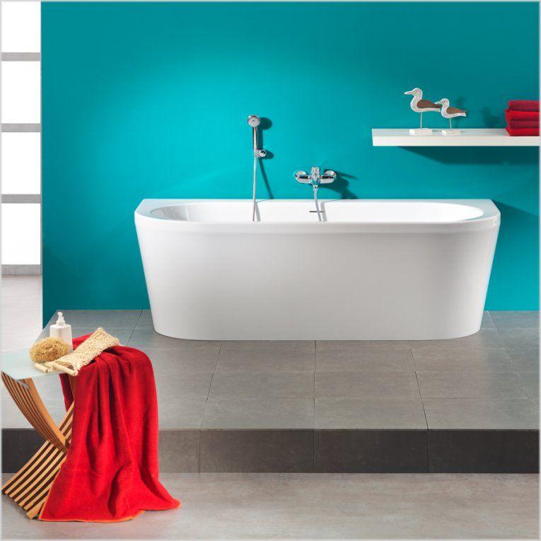 Freistehende Badewanne Bei Duschmeister Günstig Online Kaufen von Freistehende Badewanne An Wand Bild