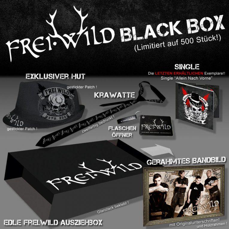 """Freiwild """"black Box"""" Ltd [6 Teilig]  Aktuelles Zum Merchandise von Frei Wild Bettwäsche Photo"""