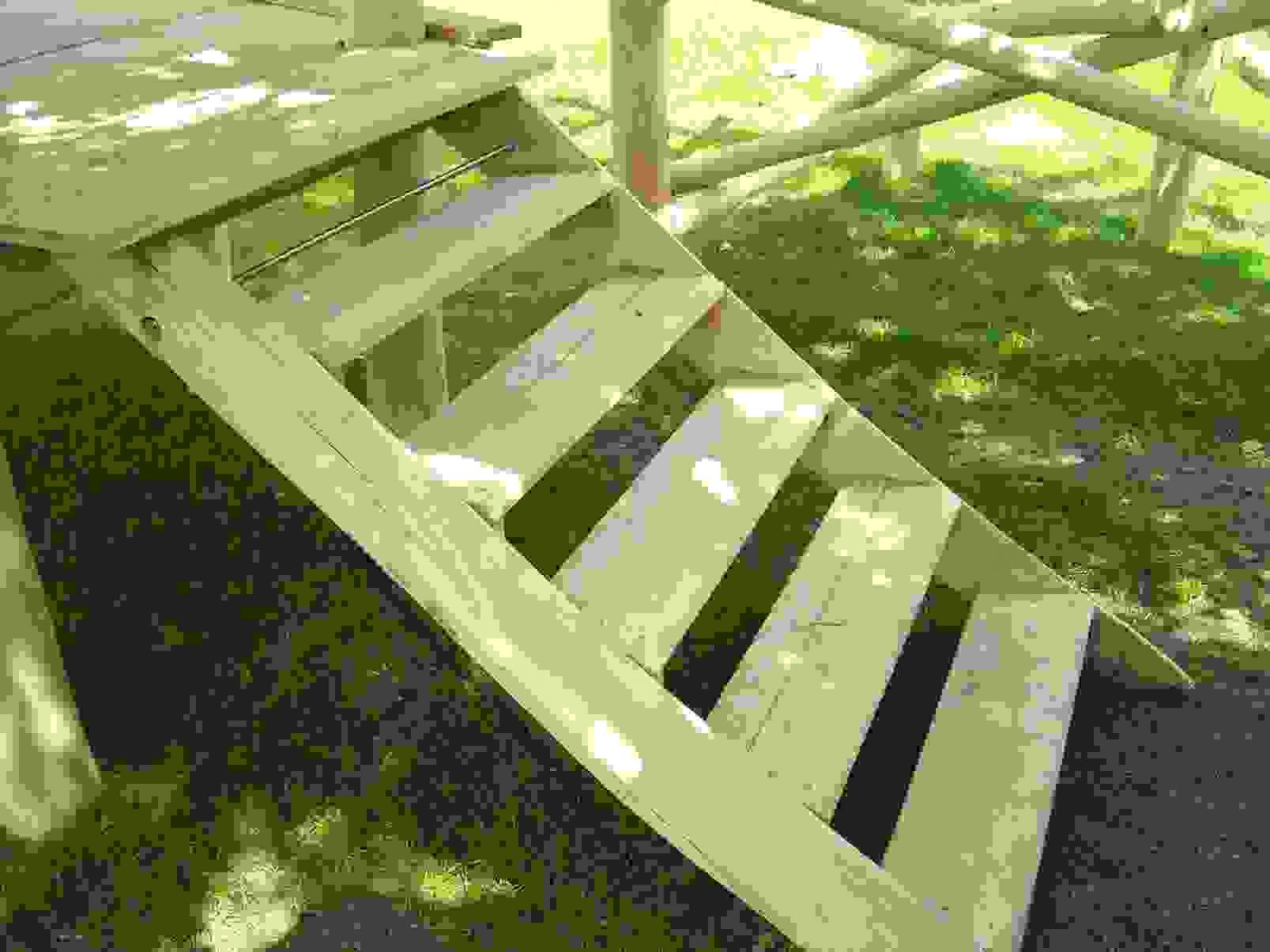 Frisch 40 Gartentreppe Bauen Holz Designideen  Einzigartiger Garten von Außentreppe Selber Bauen Holz Photo