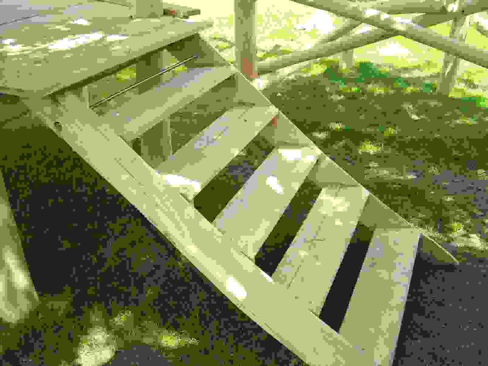 Frisch 40 Gartentreppe Bauen Holz Designideen  Einzigartiger Garten von Treppen Selber Bauen Holz Photo