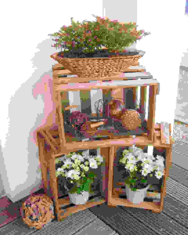 Frisch 40 Holzkisten Deko Ideen Konzept Einzigartiger Garten Von