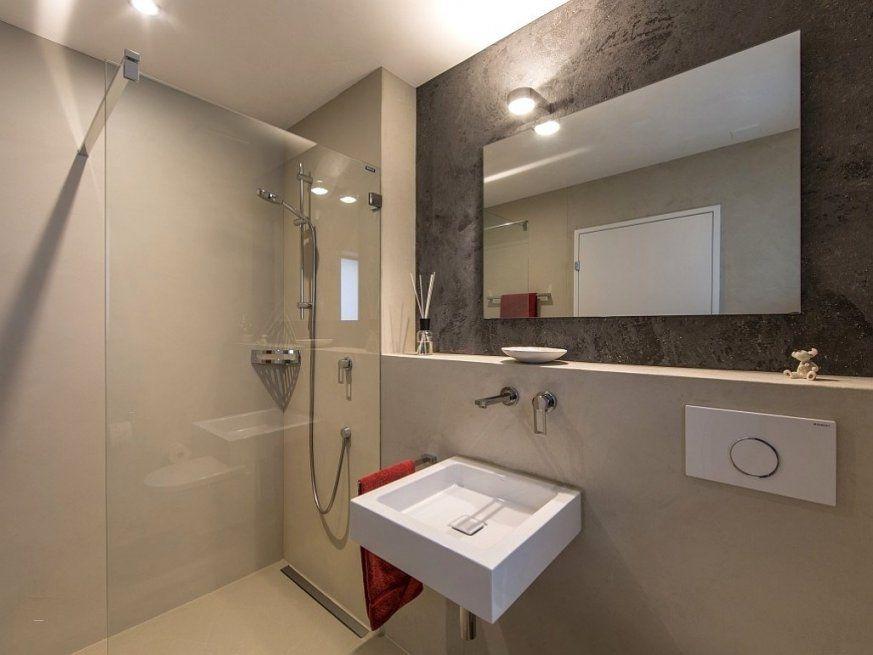 Frisch Modernes Badezimmer Ohne Fliesen  Questsc von Modernes Badezimmer Ohne Fliesen Photo