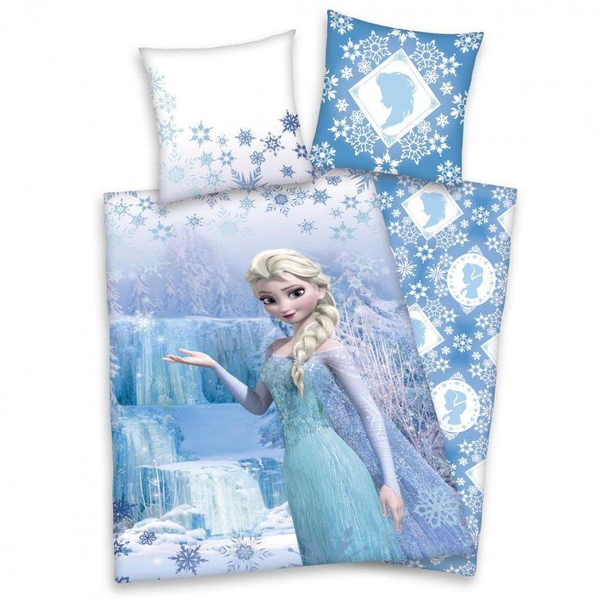 Frozen Elsa Bettwäsche Eiskönigin Kissen 80X80Cm  Real von Elsa Bettwäsche 100X135 Bild