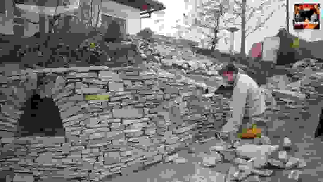 Full Size Of Innenarchitekturschnes Garten Steinmauer Selber Bauen von Steinmauern Im Garten Selber Bauen Bild