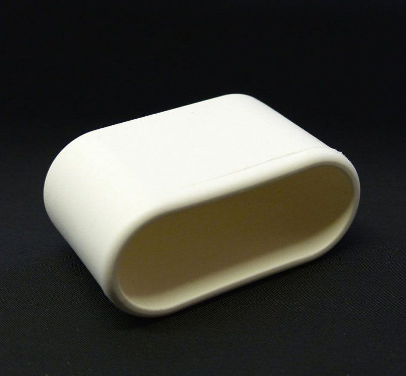 mwh fusskappe 40x20 mm oval in weiss oder schwarz gartenm bel jendrass von fusskappen oval f r. Black Bedroom Furniture Sets. Home Design Ideas