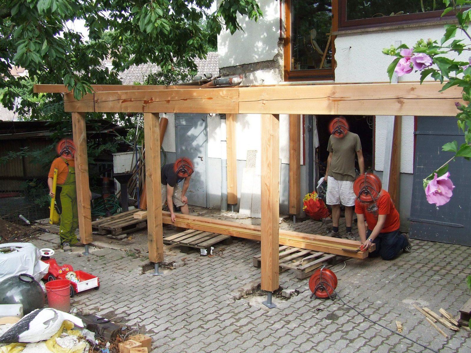 Gallery Of Balkon Selber Bauen Haussanierung  Terrasse Aus Holz von Balkon Holz Selber Bauen Bild