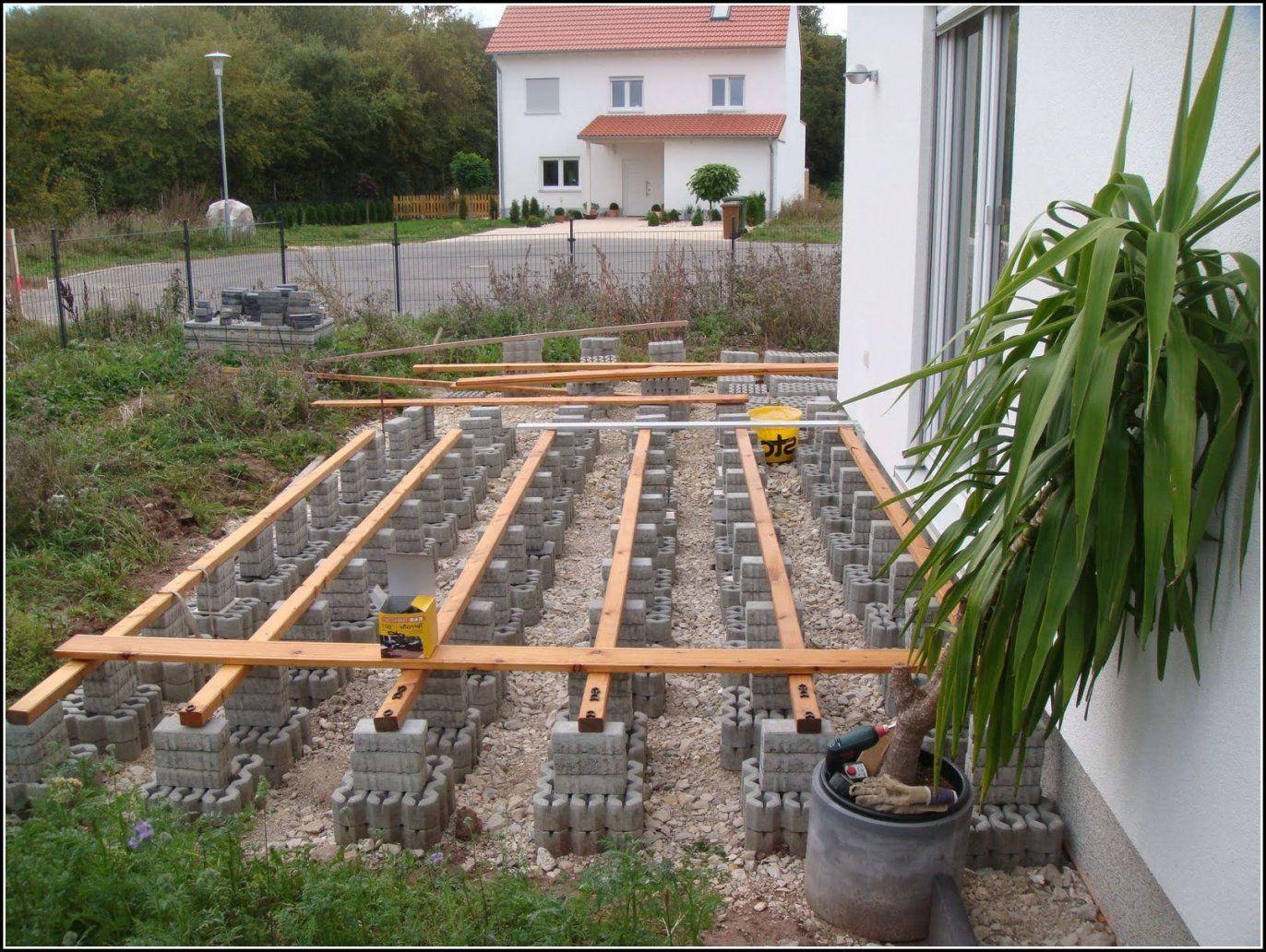 gallery of garten terrasse selber bauen terrasse selber gestalten von garten am hang selbst. Black Bedroom Furniture Sets. Home Design Ideas