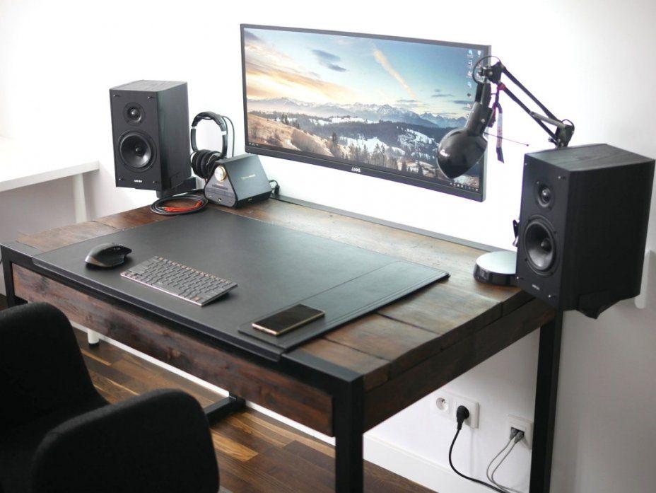 Gaming Tisch Selber Bauen Mit Gamer Schreibtisch Decoration von Gamer Schreibtisch Selber Bauen Bild