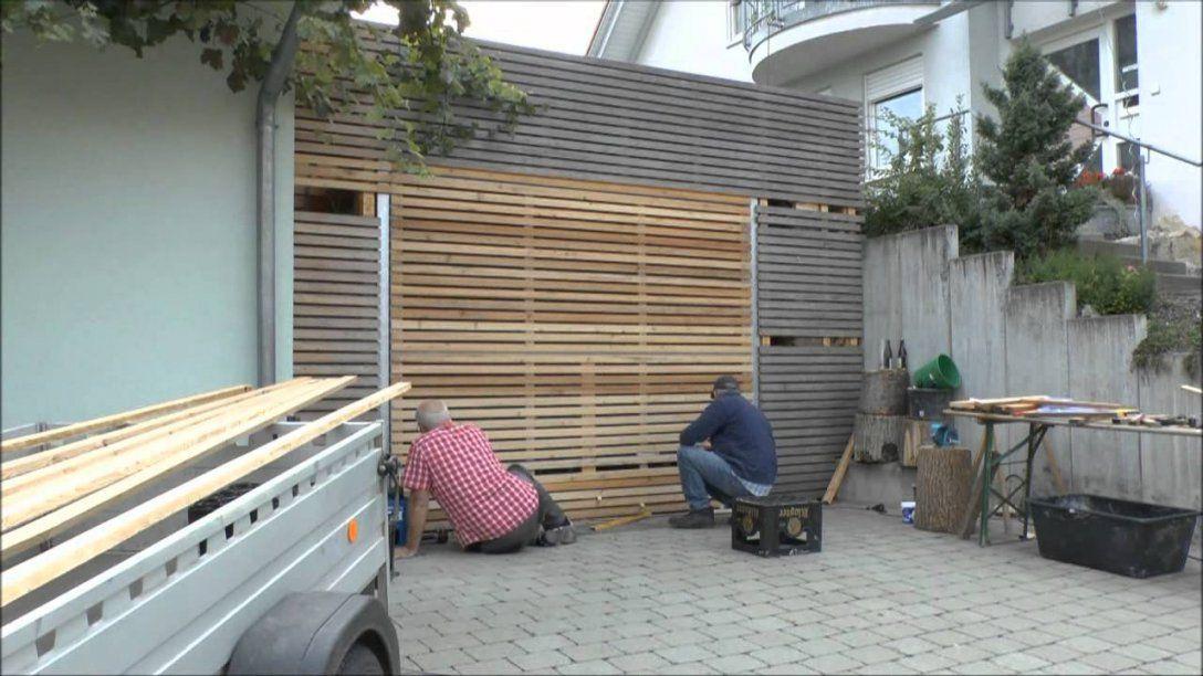 Garagentor Heinz&kajo  Youtube von Holz Garagentor Selber Bauen Bild