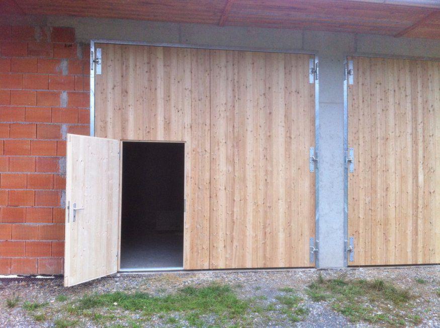 Garagentor Holz Zweiflügelig Bilder Das Wirklich Erstaunlich von Holz Garagentor Selber Bauen Photo