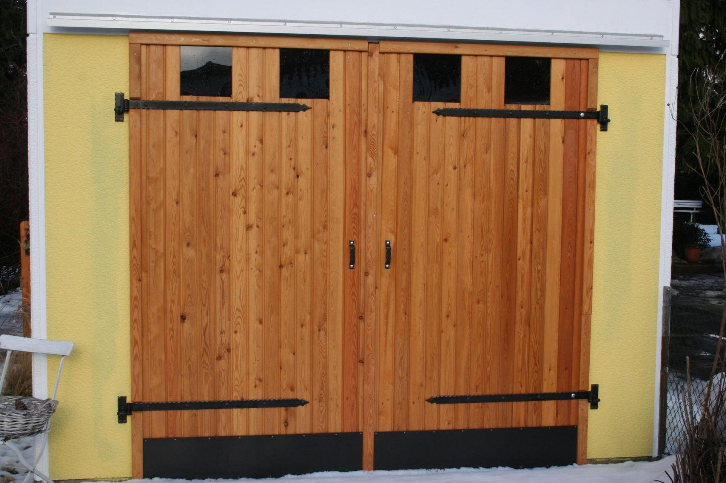 Garagentor Selber Bauen  Swalif von Holz Garagentor Selber Bauen Bild