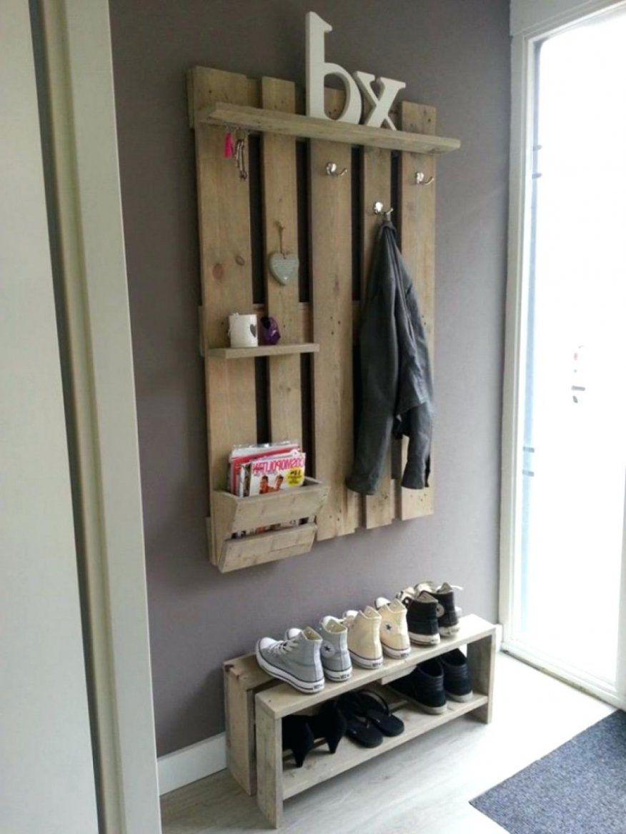 Garderobe Aus Holz Selber Bauen von Garderobe Selber Bauen Design Photo