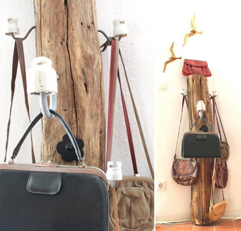 Garderobe Aus Holz Selber Bauen von Holz Garderobe Selber Machen Photo