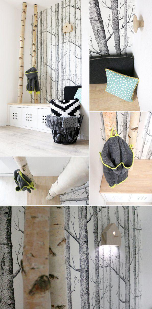 Garderobe selber bauen schoner wohnen alitopten von for Garderobe schoner wohnen