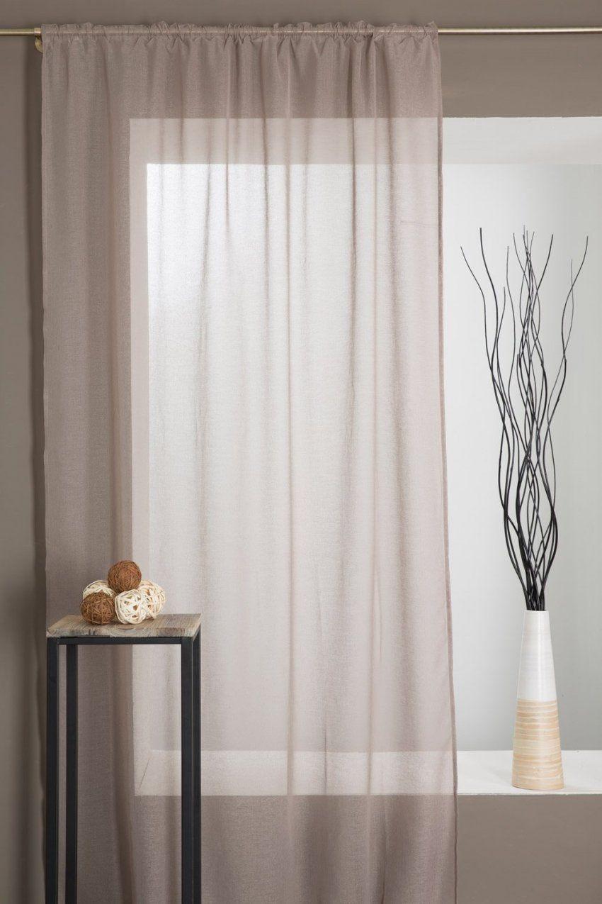 Gardine Mit Kräuselband Für Hohe Fenster 140 X 280 Cm  Decoboutique von Gardinen Für Hohe Fenster Bild