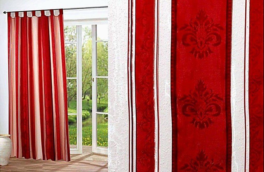 Gardine Rot von Gardinen Rot Weiß Gestreift Bild