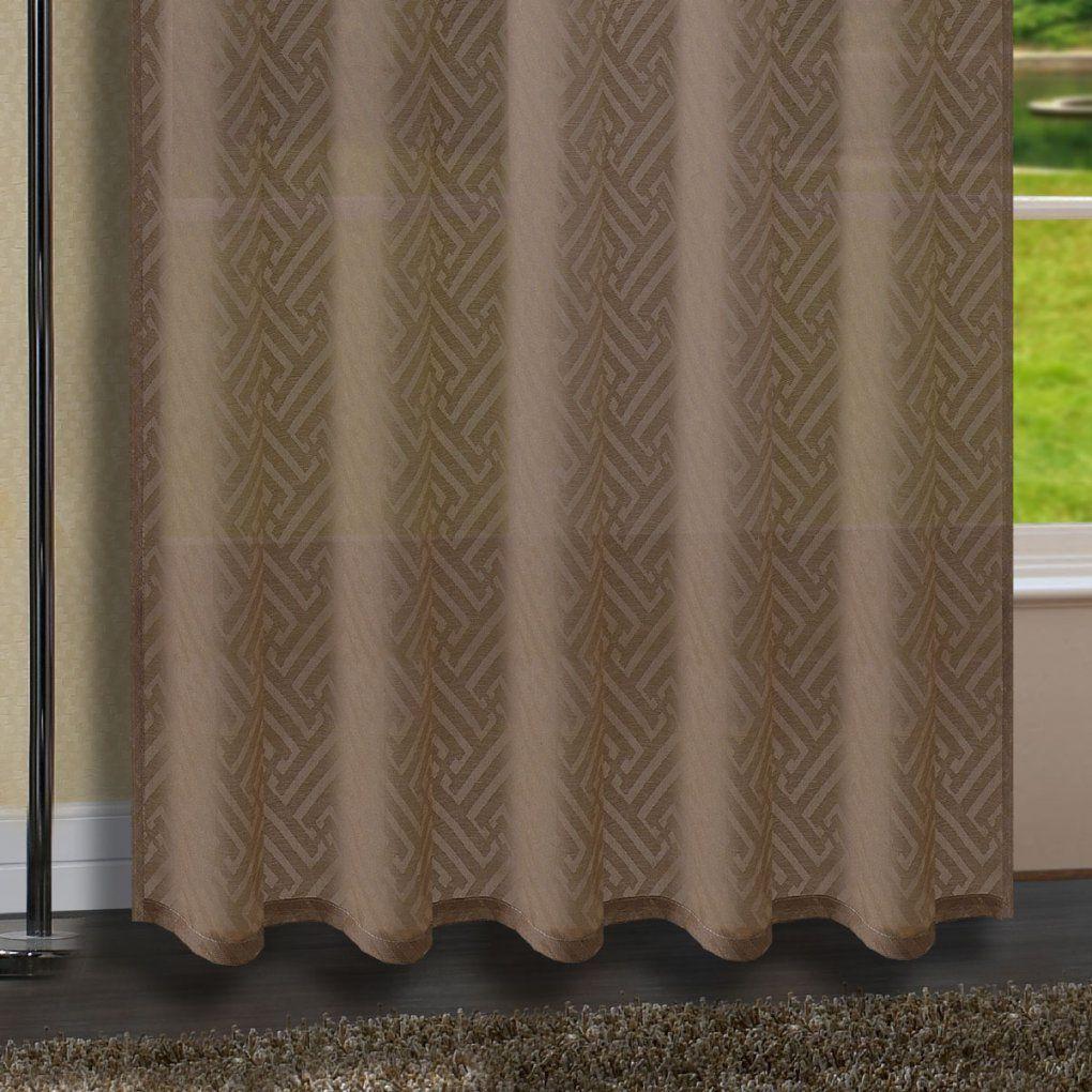 Gardine Schal Vorhang Blackyard Verdeckte Schlaufen Ausbrenner von Gardinen Mit Verdeckten Schlaufen Bild