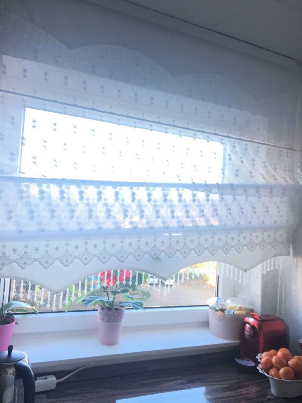 Gardineinweiss160Cmbeifragenmelden von Dekor Markt Gladbeck Gardinen Bild
