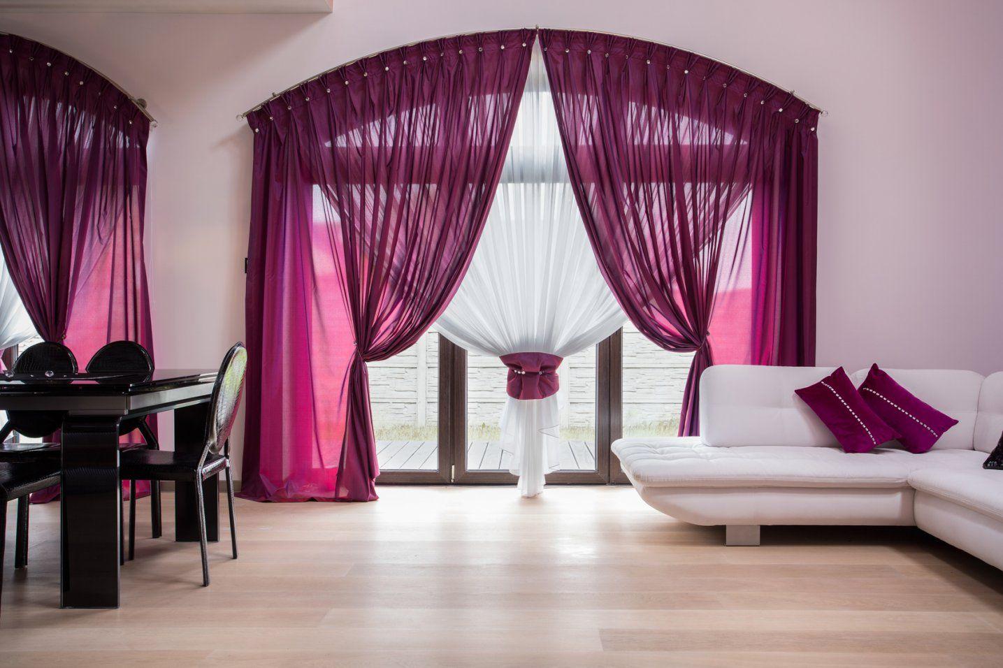 Gardinen 6 Ideen Für Das Wohnzimmer von Neue Gardinen Fürs Wohnzimmer Bild