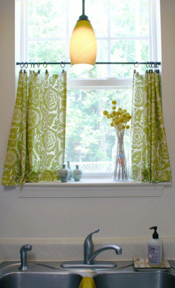 Gardinen Für Küchenfenster Ideen von Küchenfenster Gardinen Ideen Bild