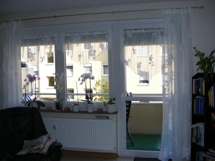 Gardinen Hervorragend Gardinen Für Balkontür Und Fenster Gardinen von Gardinen Für Großes Fenster Mit Balkontür Bild