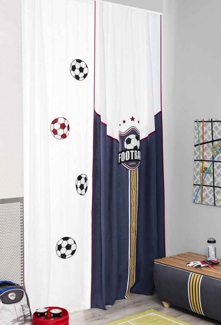 Gardinen Liebenswürdig Gardine Fussball Gardinen Online von Fußball Gardinen Kinderzimmer Photo
