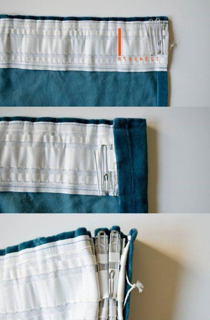 Gardinen Nähen Kreative Ideen Für Anfänger  Gardinen Nähen von Gardinen Selber Nähen Faltenband Bild