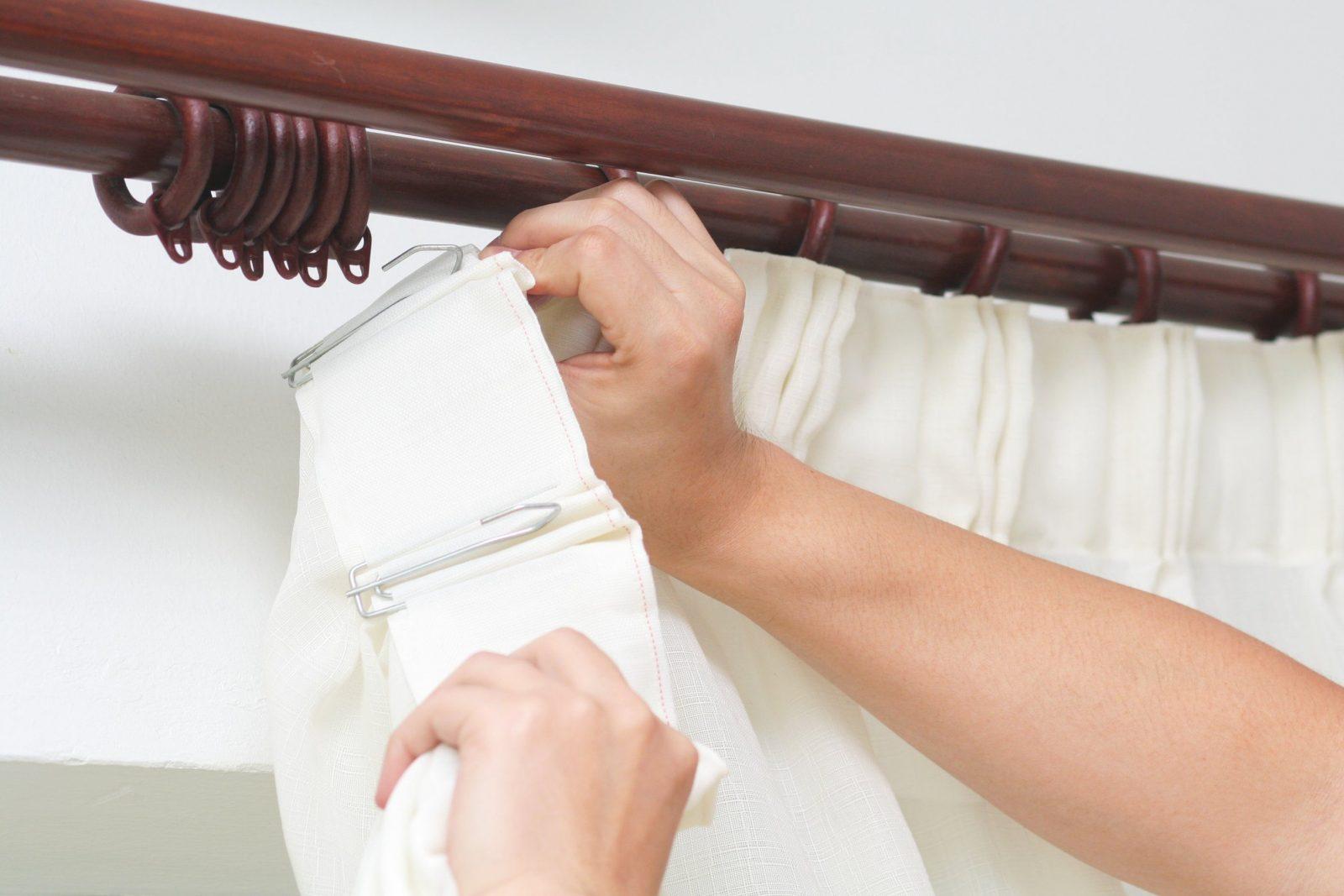 Gardinen Richtig Aufhängen  5 Klassische Und Moderne Varianten von Gardinen Ringen Aufhängen Photo