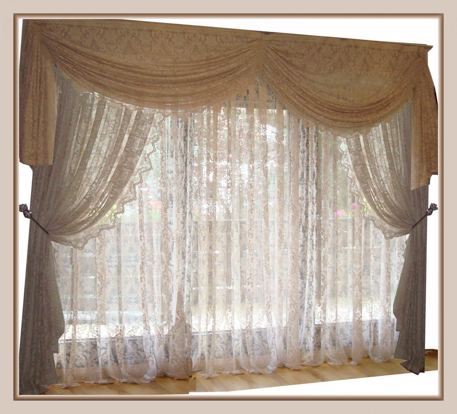 Gardinen Spitze  Angebote Auf Waterige von Bogen Gardinen Wohnzimmer Photo