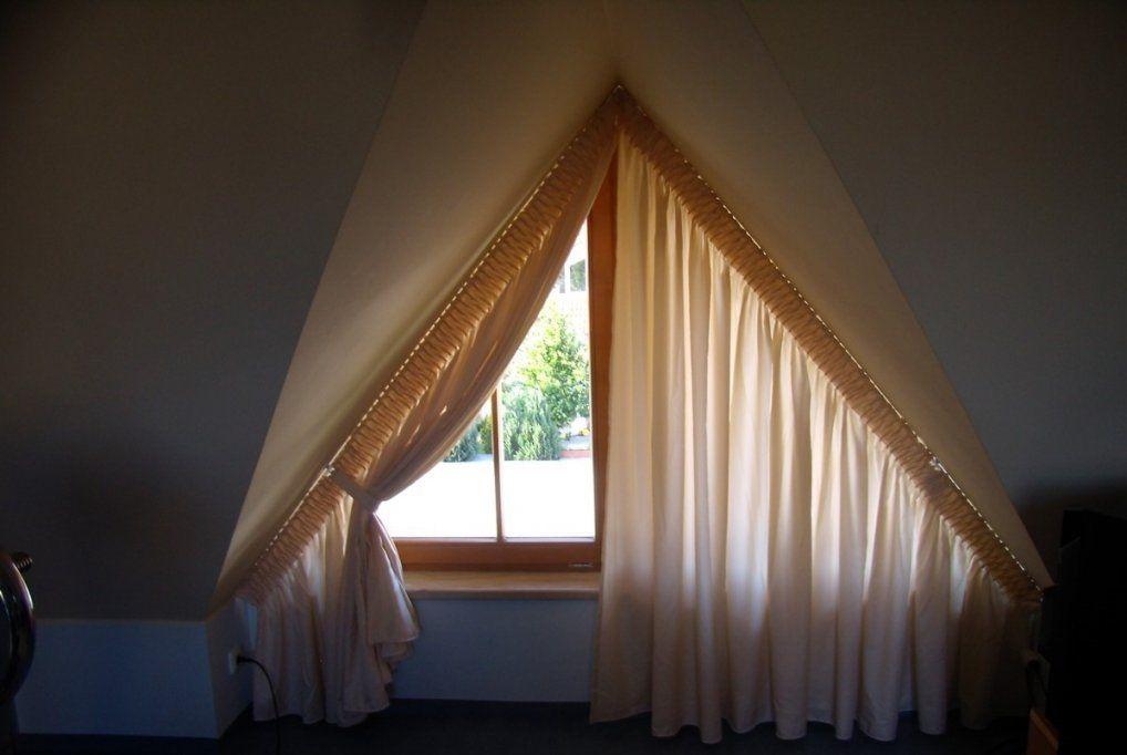Gardinen Vorzüglich Gardinen Für Dreiecksfenster Gepflegt Vorhang von Gardinen Für Dreiecksfenster Bild