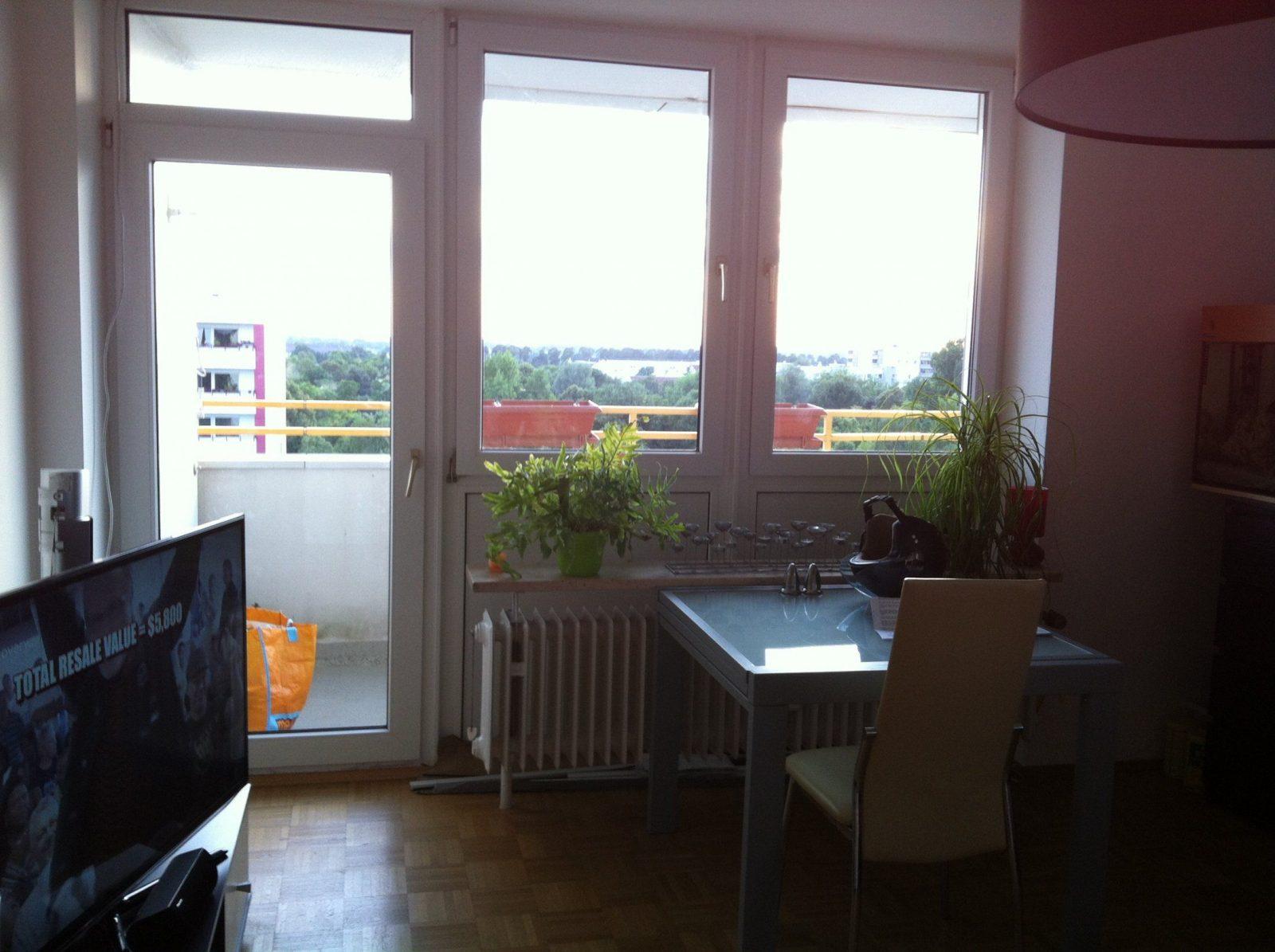 Wohnzimmer fenster great tulle vorhnge luxus bestickte - Gardinen balkontur und fenster modern ...